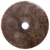 Abrasive disk for metal cutting Stock Photography