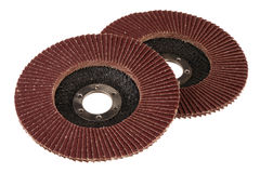 Abrasive disks Stock Photo