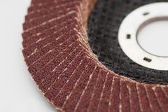 Abrasive disks. Abrasive disk for polish wood, metal and stone Stock Photography