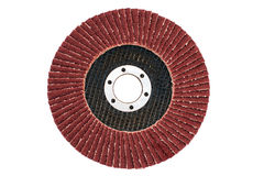 Abrasive flap grinding disc Stock Photography