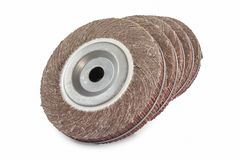 Abrasive flap wheel Stock Photography