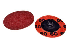 Abrasive sanding discs Stock Photography