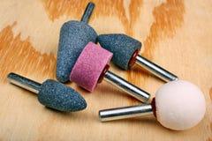 Abrasive sanding head Stock Images