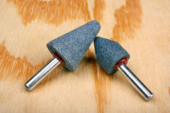 Abrasive sanding head Stock Images
