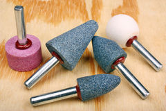 Abrasive sanding head Royalty Free Stock Photography