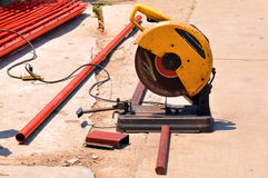 Abrasive saw Stock Photography