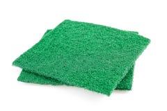 Abrasive sponges stock photos