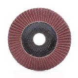 Abrasive wheel isolated on white background Royalty Free Stock Photo