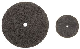 The Abrasive wheels isolated on a white background Stock Photography