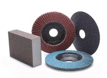 Abrasive wheels Stock Photography