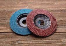Abrasive wheels Royalty Free Stock Images