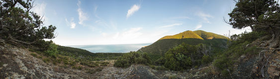 Abrau-Halbinsel, Reserve Utrish lizenzfreies stockbild