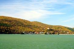 Abrau lake. Beautiful view of the lake Stock Image