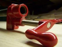 Abrazadera de tubo Foto de archivo libre de regalías