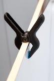 Abrazadera plástica Imagen de archivo