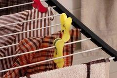 Abrazadera y lavadero imagen de archivo