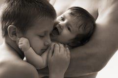 Abrazo Foto de archivo