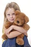 Abrazo de oso del peluche Imagen de archivo