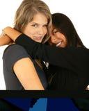 Abrazo del mejor amigo imagen de archivo libre de regalías