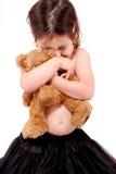 Abrazos del oso del peluche fotos de archivo