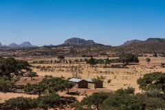 Abreha Atsbeha Christian church in Tigray region of Ethiopia stock photography