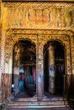 Abreha Atsbeha kristen kyrka i Tigray, Etiopien royaltyfria bilder