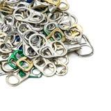 Abrelatas del tirón del anillo Imagen de archivo libre de regalías
