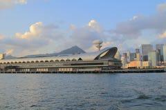 Abren a Kai Tak Cruise Terminal en el sitio Fotos de archivo libres de regalías