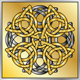 Abrégé sur celtique noeud Photos stock