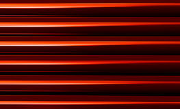 Abrégé sur rouge vibrant vif horizontal présentation d'affaires Images libres de droits
