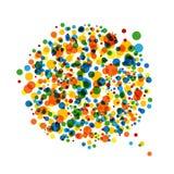 Abrégez le fond pointillé pour votre conception Image stock
