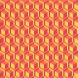 abrégez le fond Reliefe cube géométrique Images libres de droits
