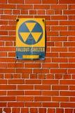 Abri contre les retombées radioactives Photos stock