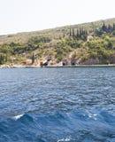Abri dans la baie montenegro Photographie stock libre de droits