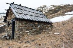 Abri de montagne Photos libres de droits