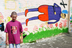 Abri pour des mineurs Photo libre de droits