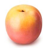 Abricot mûr d'isolement sur un fond blanc Image stock