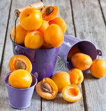 abricots Photo libre de droits