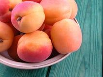 Abricots image libre de droits