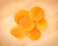 Abricots secs image libre de droits