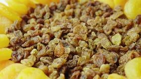 Abricots secs et raisins secs Ingrédients des plats de fête Plats pour Pâques Photographie stock libre de droits