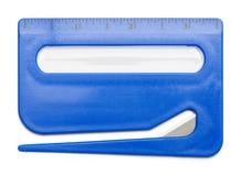 Abridor de letra azul Fotografia de Stock Royalty Free