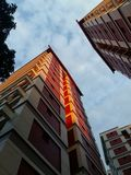 Abrigando blocos em Singapura Imagem de Stock