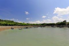 Abrigo da ilhota famosa do gulangyu, adôbe rgb Foto de Stock