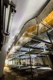 Abrigo de bomba abandonado soviete da guerra fria do cargo Foto de Stock Royalty Free