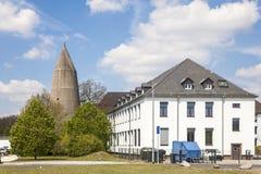 Abrigo de bomba velho em Giessen, Alemanha Imagens de Stock