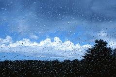 Abrigo de la lluvia Fotografía de archivo libre de regalías
