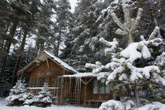 Abrigo de la nieve fotos de archivo libres de regalías