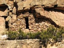 Abrigo de la roca Imágenes de archivo libres de regalías
