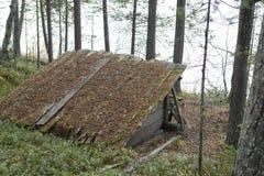 Abrigo de madeira fotos de stock royalty free
